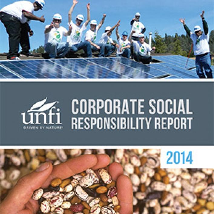 Corporate social responsibility report for 2014